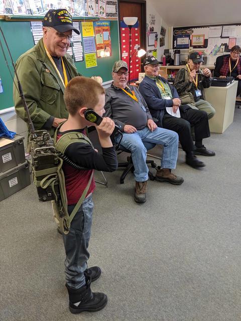 Roosevelt School Veterans Day ceremony