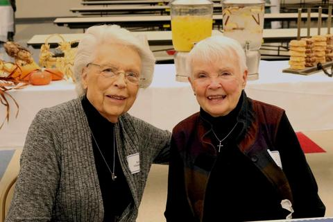 Joyce Christensen and Dorothy Hendee