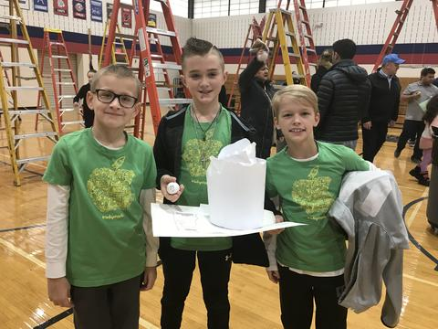 Egg Drop Team Gold Winners
