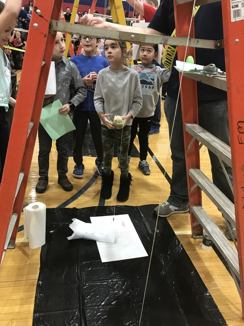 Egg Drop Ladder Station