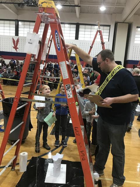 Egg Drop Ladder Station Judge