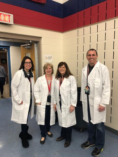 Field Assistant Principal and Principal with Science Center Assistant and Assistant Superintendent