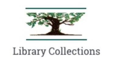 Library Collections logo with tree