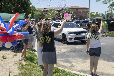 Emerson Middle School parade - Photo #3