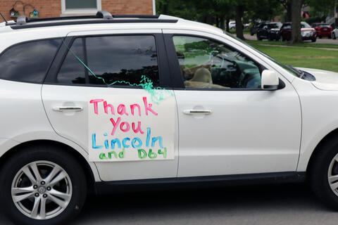 Lincoln Middle School parade - Photo #2