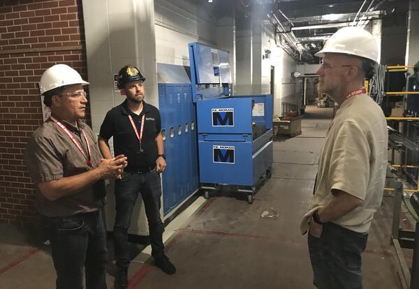 Dr. Olson visits Carpenter