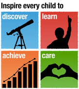 Inspire every child to discover, learn, achieve and care