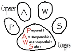 Carpenter Paw Logo