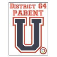 District 64 Parent University Logo