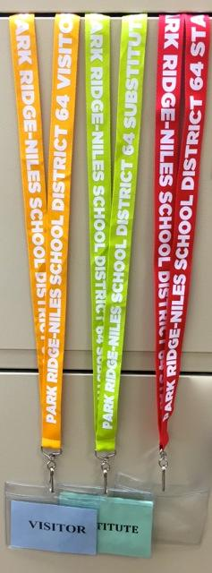District 64 lanyards
