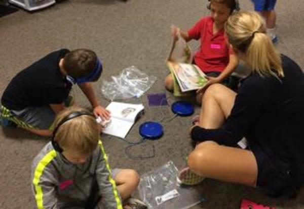 Parent Volunteers Help Make Learning Fun!