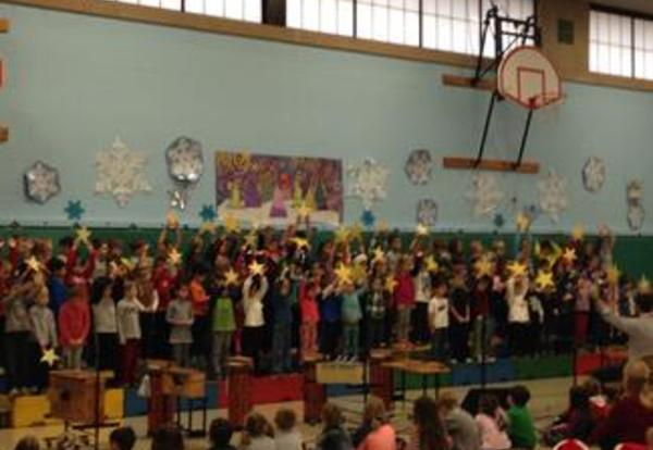 Roosevelt Holiday Sing Practice!