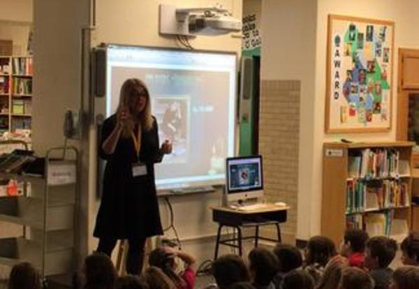 Third Grade Author Visit