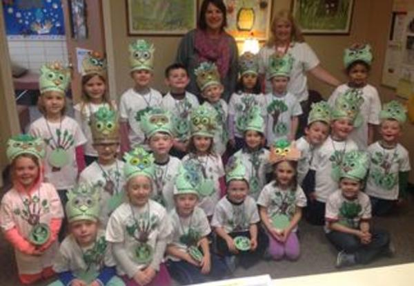 Earth Day - Kindergarteners Celebrate!