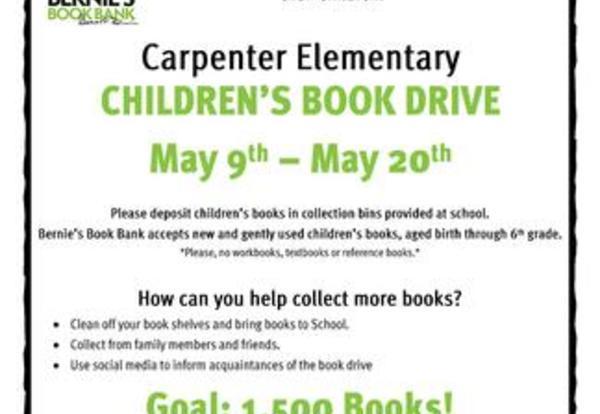 Elementary Book Drive