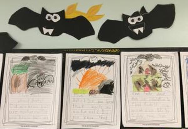 Batty Writing in 2nd Grade