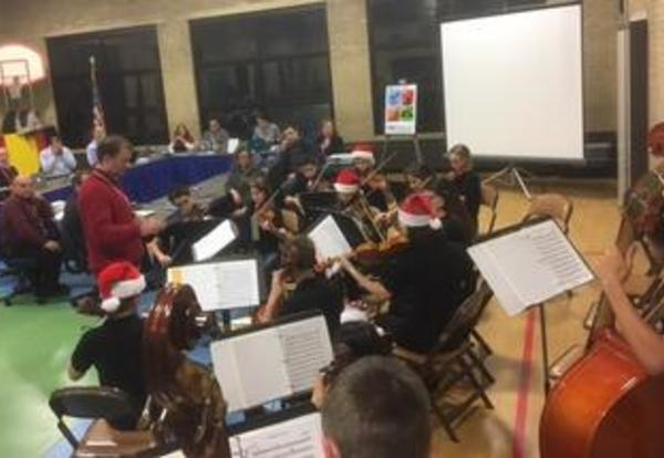Chamber Orchestra in the Holiday Spirit