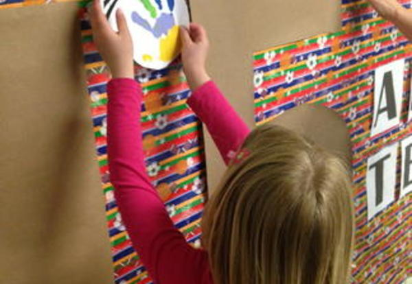 Washington Parents and Students Decorate for Teacher Appreciation Week