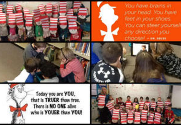 Happy BIrthday Dr. Seuss/Read Across America Day