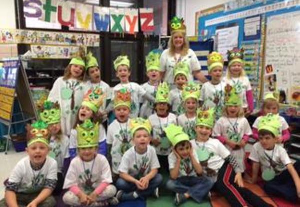 Kindergarten Celebrates Earth Day at Washington