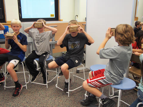 More students using virtual reality viewers