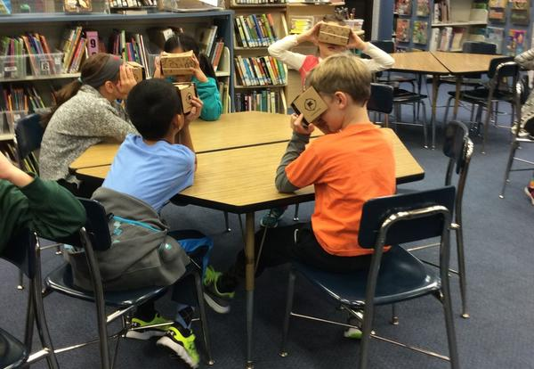 Google Expeditions take District 64 Students Away!