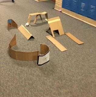 Cardboard track project