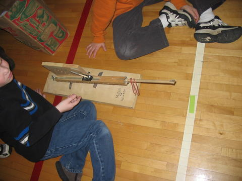 Rubber Band Catapult 9