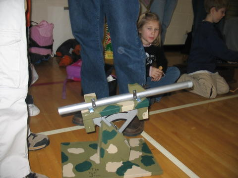 Rubber Band Catapult 8