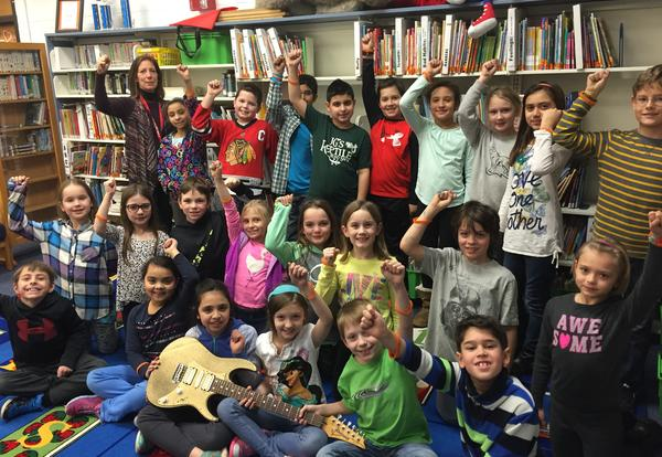 Franklin Rocks Golden Guitar Classrooms for January 2016!