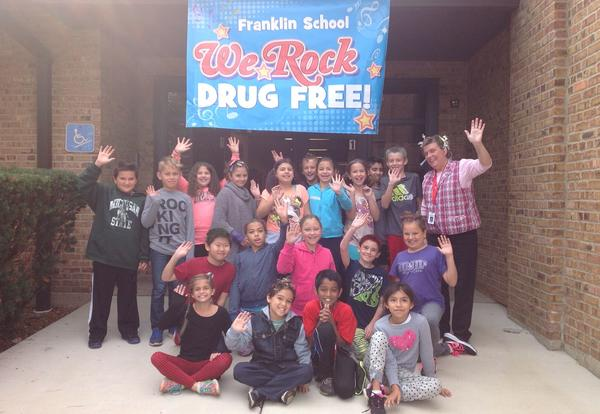 Franklin Wild Hair Day for Red Ribbon Week
