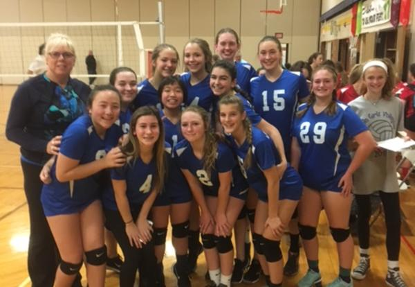 Way to go Girls' Volleyball!
