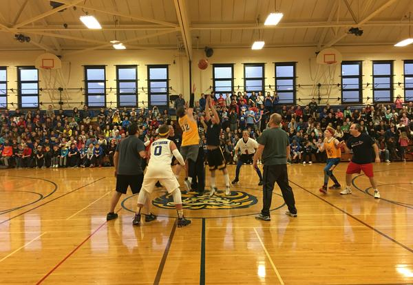 Student-Faculty Basketball Game - What a Night!