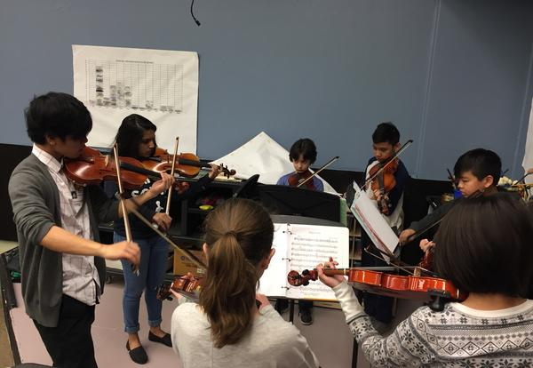 Field String Ensemble with Maine East