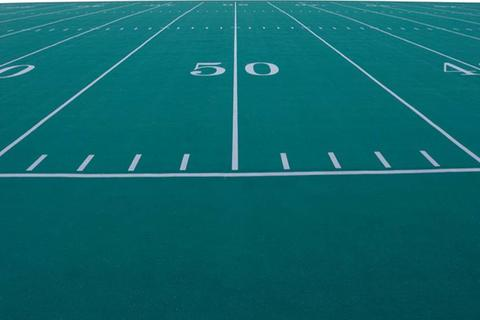 Picture of a football field