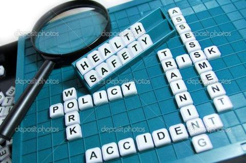 Health and safety spelled out in crossword puzzle