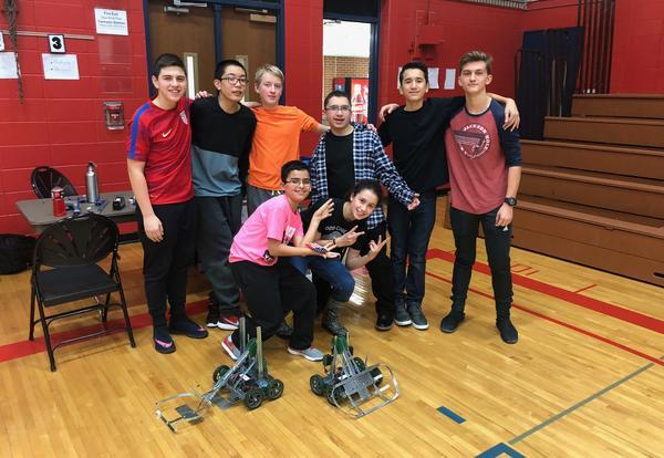 Culver Robotics Club a Winner in First Year