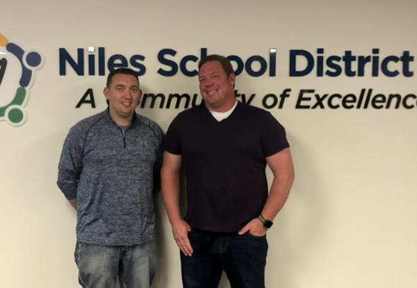 Joe Kuffel and Kenny Kruger Join District 71 School Board