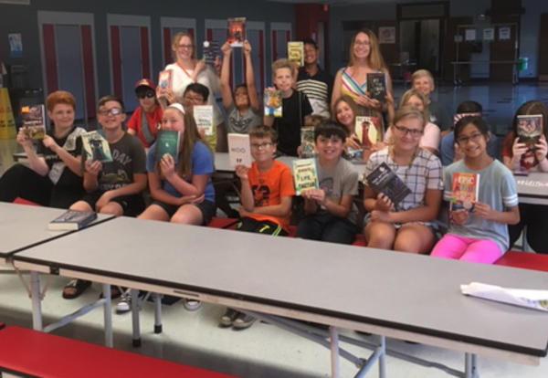 Summer Reading Flourishes at Culver School