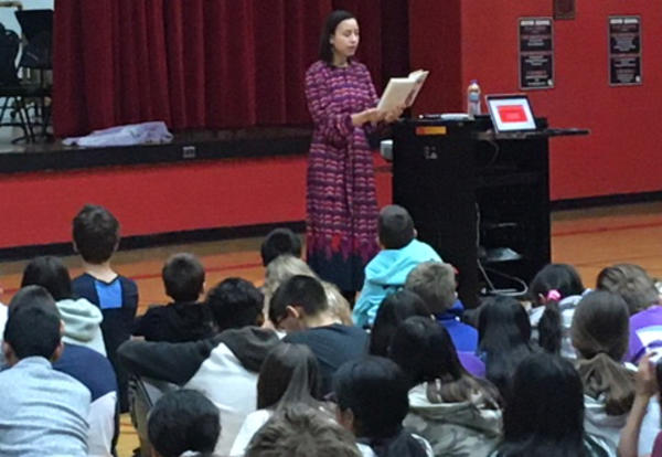 Author urges Culver students to 'get your story out there'
