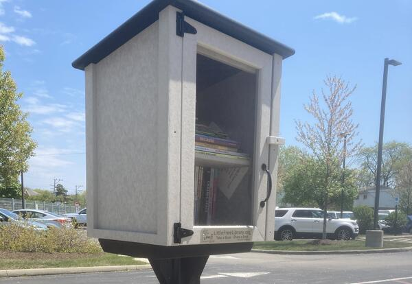 Little free library opens door to world of reading
