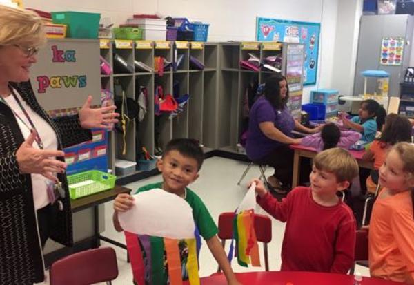 Culver Emphasizes Positive Student Behavior