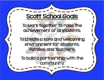 Scott School Goals