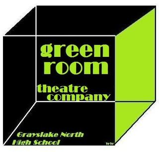 green room theater company logo