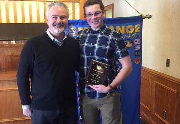 Exchange Club Student of the Month