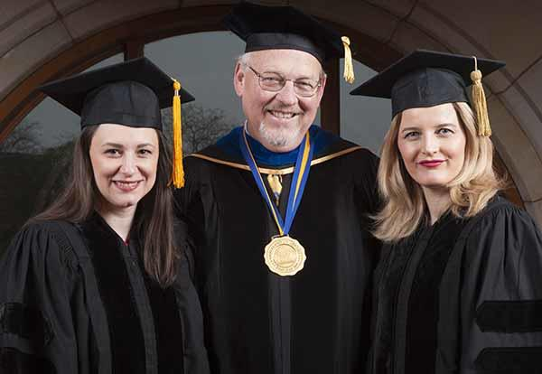 Graceland University's 120th Commencement Ceremony and the Passing of the Presidential Torch