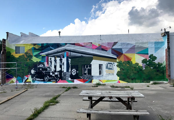 Creating the Jefferson Highway Mural
