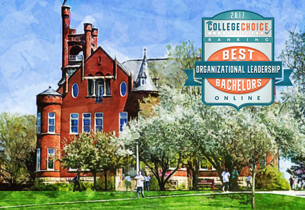 College Choice Ranks Graceland University #4 Best Online Organizational Leadership Degree