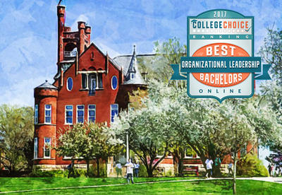 College Choice Ranks Graceland University #4 Best Online Organizational Leadership Degree