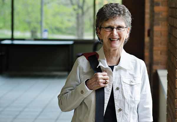 Graceland Professor of Nursing Carol Green